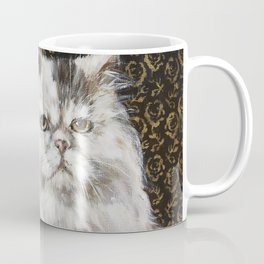 White Persian Coffee Mug