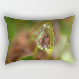 Water droplet abstract Rectangular Pillow