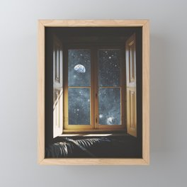 WINDOW TO THE UNIVERSE Framed Mini Art Print