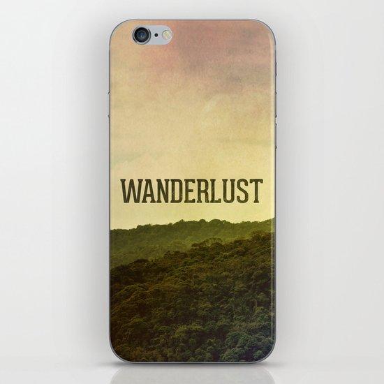 Wanderlust I iPhone & iPod Skin