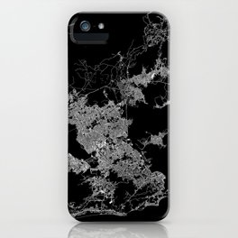 Rio map Brazil iPhone Case