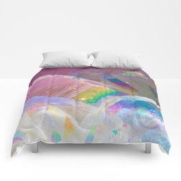 Opal Aura Quartz Crystal 1 Comforters