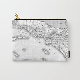 Southern California Map Carry-All Pouch