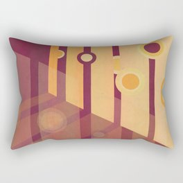 Shining Through II Rectangular Pillow