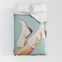 These Boots - Blue Comforters