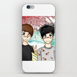 Dan and Phil Japan iPhone Skin
