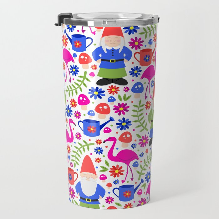 Gnome Garden Travel Mug