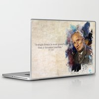 tolkien Laptop & iPad Skins featuring J.R.R. Tolkien by Philipe Kling