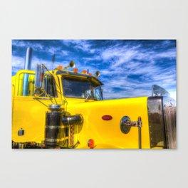 Peterbilt Truck Canvas Print