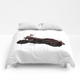 Motorcycle 2 Comforters