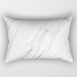 White Marble Edition 1 Rectangular Pillow