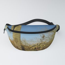 Saguaro and Mother in Law Pillow Fanny Pack