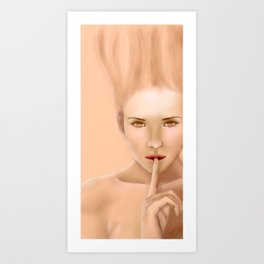 Je suis: Candle Art Print