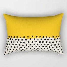 Mid Century Abstract Print, Sunset Art, Living Room Decor, Colour Field, Modernist Modern Art, Colou Rectangular Pillow