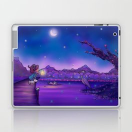 The Unexpected Visitor Laptop & iPad Skin
