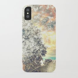 Snow, Sunshine and Sky iPhone Case