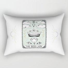 The Boss Lady Rectangular Pillow