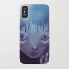 Weird Girl iPhone Case
