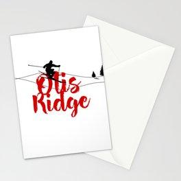 Ski at Otis Ridge Stationery Cards