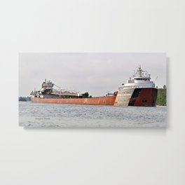 Arthur Anderson Freighter Metal Print
