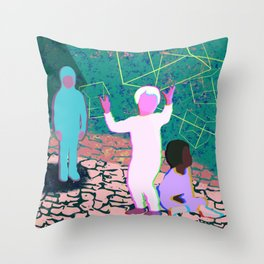 Ddusu Throw Pillow