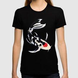 Geo Koi Black & White T-shirt