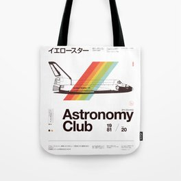 Astronomy Club Tote Bag