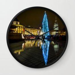Trafalgar Square Christmas Tree Wall Clock