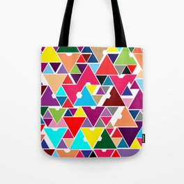 Abstract Invasion Tote Bag