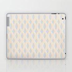 Light Blue and Cream Design Laptop & iPad Skin