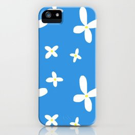 Classic Blue and White Flowers iPhone Case