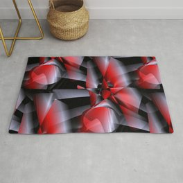 3D abstraction -11- Rug