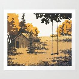 Forgotten Place Art Print