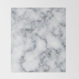 Marble Cloud Throw Blanket