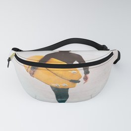 Surfer yellow surf Fanny Pack