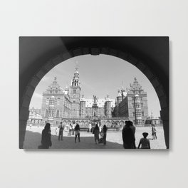 Frederiksborg Palace in Denmark  Metal Print