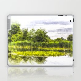 The Lily Pond Art Laptop & iPad Skin