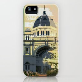 Exhibition Building iPhone Case