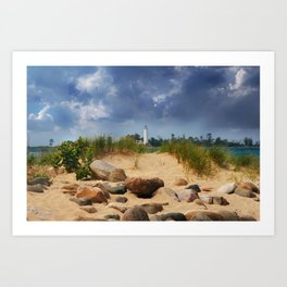 Chantry Island Art Print