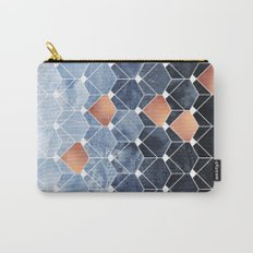 Copper Diamonds Carry-All Pouch