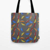 cars Tote Bags featuring Cars by PrisonBlockS