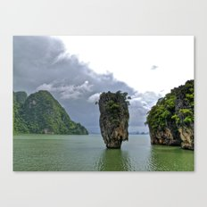 007 Island Canvas Print