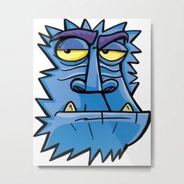 Antarctic angry monkey Metal Print
