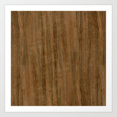 Etomie (Flat Cut) Wood Art Print