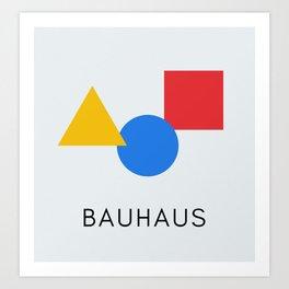Bauhaus - Geometric Art Art Print