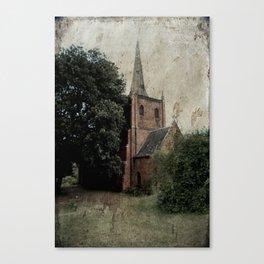 Anglican Church Carcoar Canvas Print