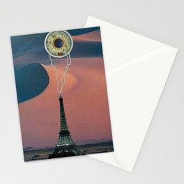 gobi lightning Stationery Cards