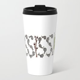 Mississippi Word Art Travel Mug