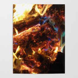 Colorful FirE Poster