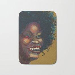 Glorious Smile, Glorious Hair, Glorious Glow: African Woman Bath Mat